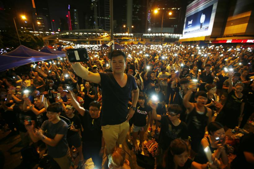 China Warns Hong Kong Protesters Against 'Illegal Acts'