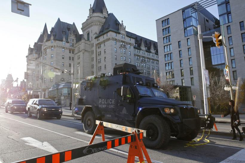 After Ottawa Shooting, FBI Urges Vigilance On Border