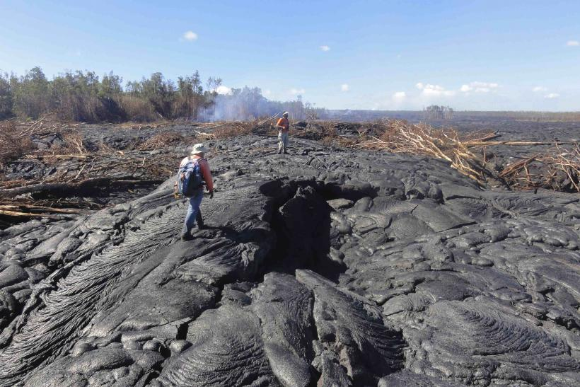 Kilauea Lava Flow Heading Threatening 4,000