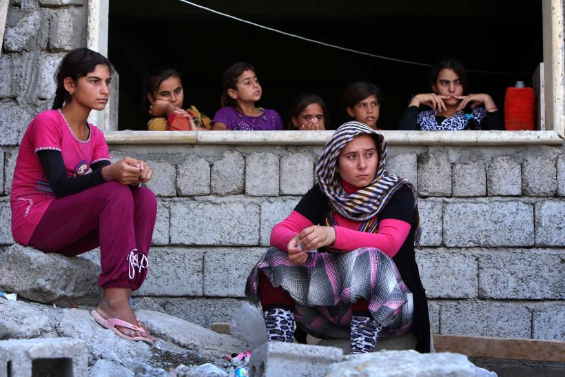 Yazidi Girls Sold Into ISIS Slavey Bought Back by Families