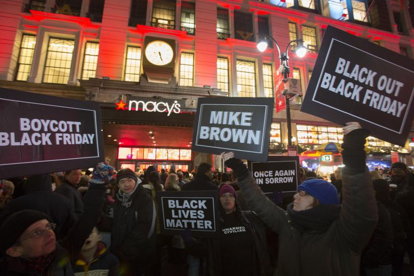 Ferguson Protests Black Friday Sales