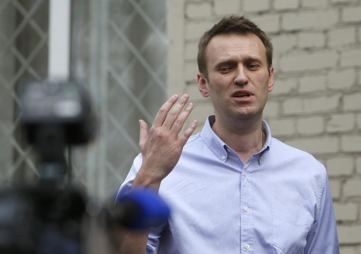 Russia Blocks Navalny Supporters' Facebook Page