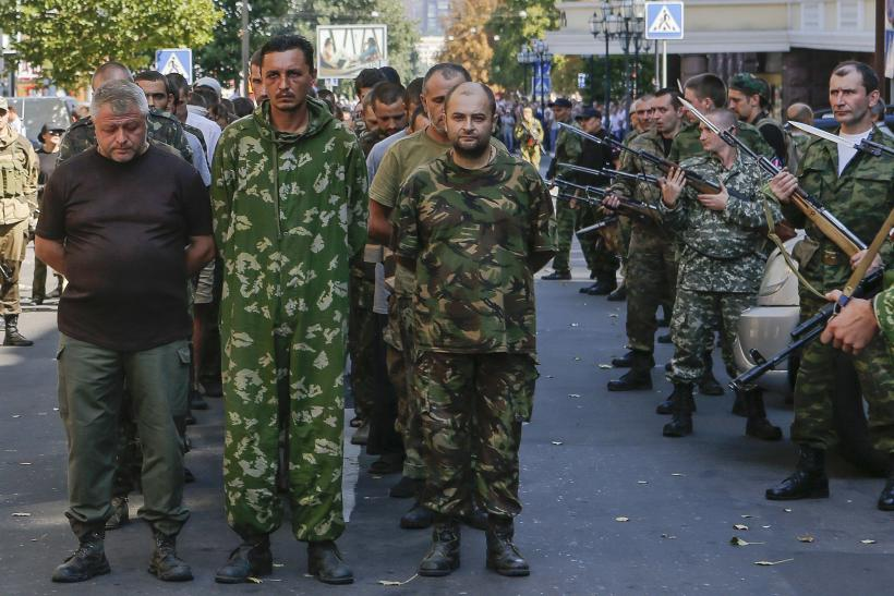 Ukraine, Rebels Agree To Exchange Prisoners