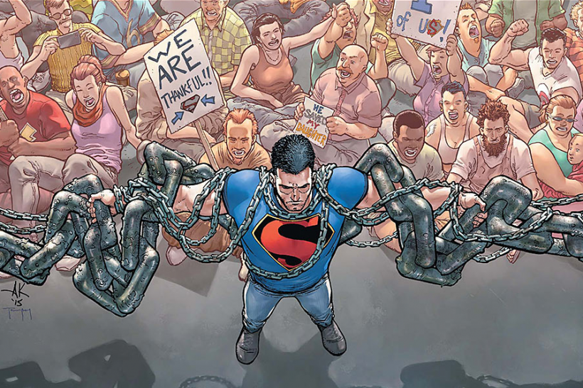 Action Comics #42 crop