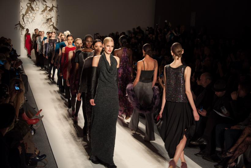 New York Fashion Week: Cesar Galindo's CZAR Fall 2013 Collection Is All About 'Living In The Now' [PHOTOS, VIDEO]