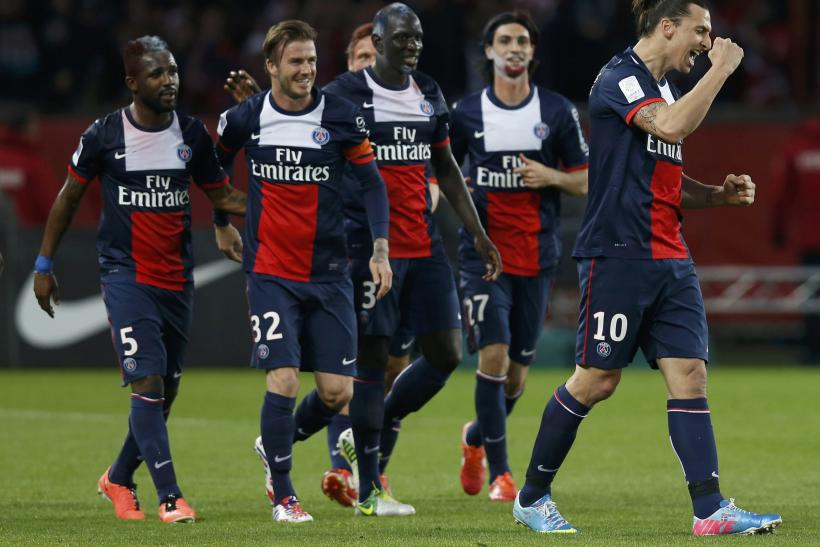 PHOTOS David Beckham's Last Game: PSG Victorious 3-1, Beckham Cries In Final Match