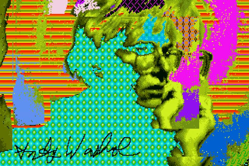 'Trapped' Warhol Artwork Discovered On Nearly 30-Year-Old Amiga Floppy Disks [PHOTOS]