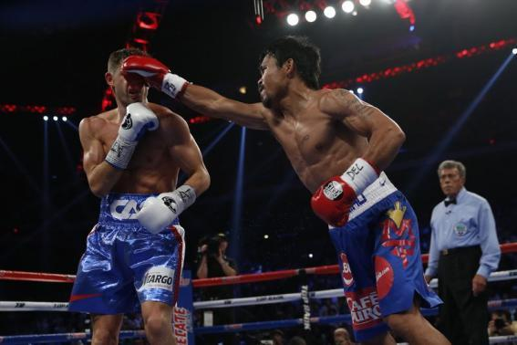 VIDEO: Manny Pacquiao's 6 Knockdowns Highlight Win In Chris Algieri FIght
