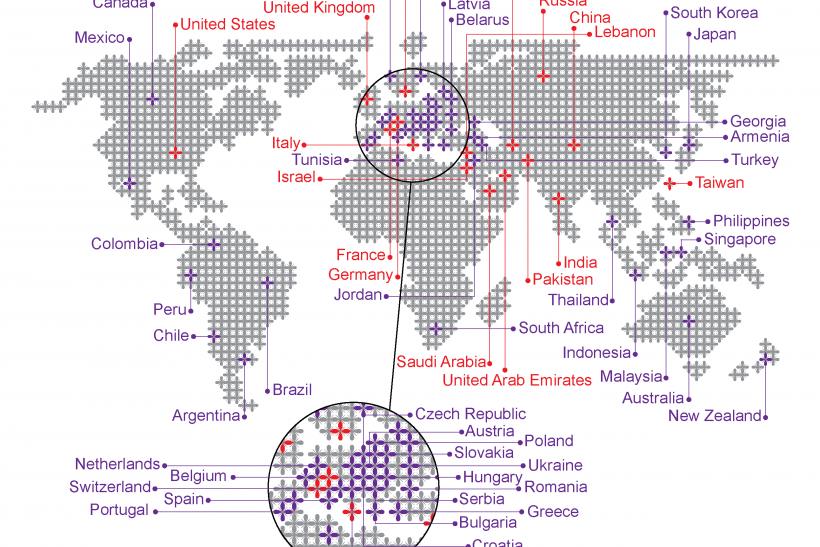 Drones: Which Countries Have Them For Surveillance And Military Operations? (MAP)