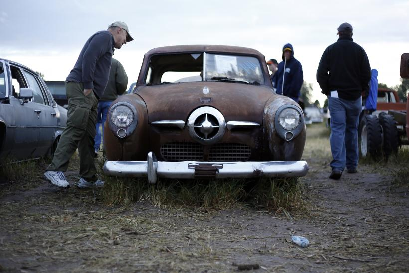 Vintage Cars Draw Crowds To Tiny Nebraska Town