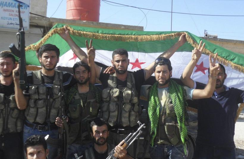 Syrian Rebels Merge Into 'Levant Front,' Gain Ground In North