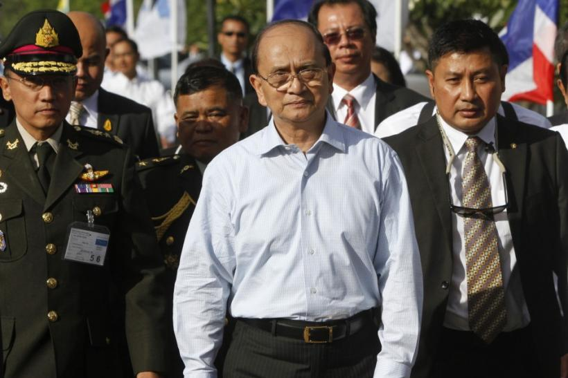 Myanmar President Thein Sein Makes First Visit Of Burmese Official To US Since 1966