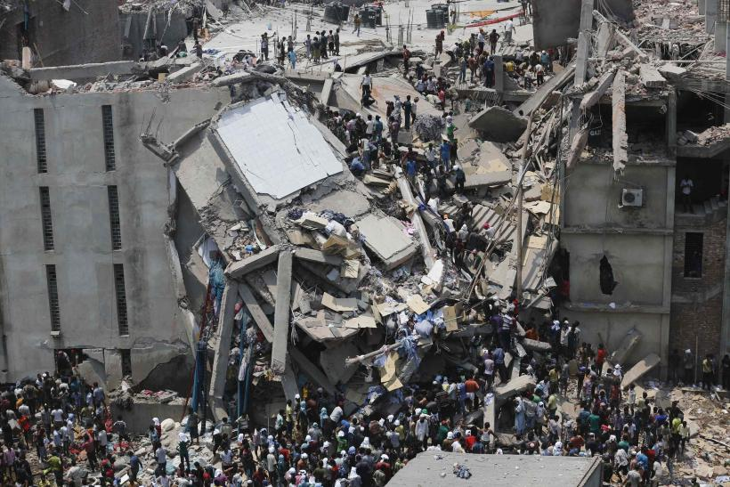 Building Collapse In Dhaka, Bangaldesh