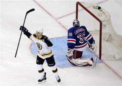 Bruins Take Commanding Lead Against Rangers