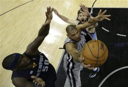 Spurs Top Grizzlies In OT To Take 2-0 Series Lead