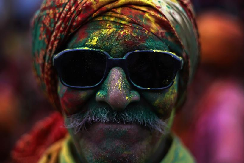 Holi 2014: India's Festival Of Colors Gets An Early Start In Villages All Over The Country [PHOTOS]