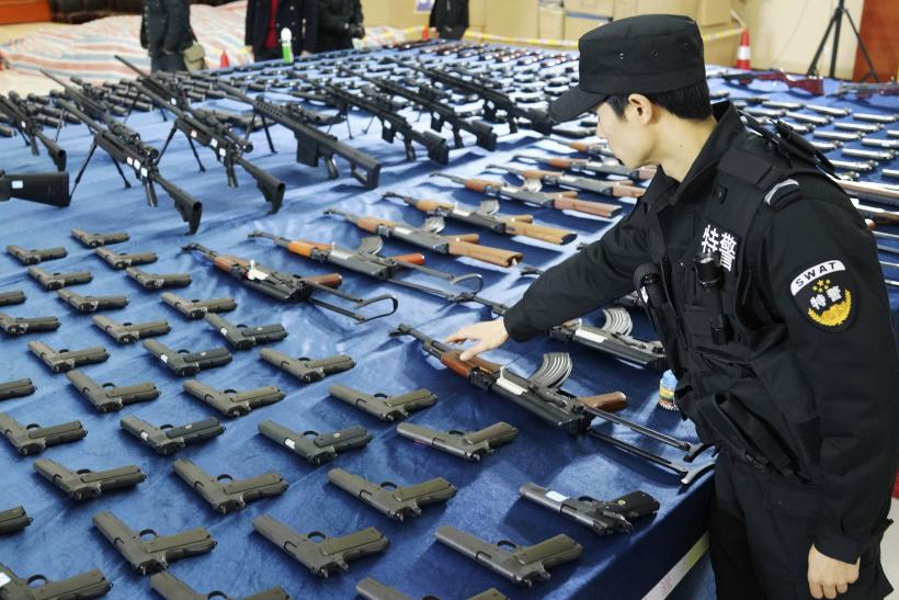China Seizes 10,000 Illegal Guns In Weapons Raid, As Gun Culture Becomes More Popular