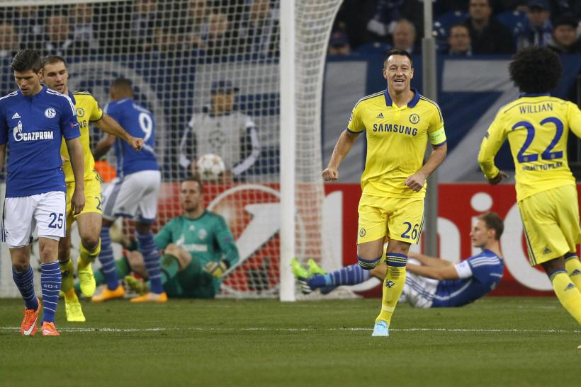 VIDEO Chelsea 5-0 Schalke: Highlights, Goals; Drogba, Willian, Terry And Ramires Help Blues Romp Into Champions League Last 16