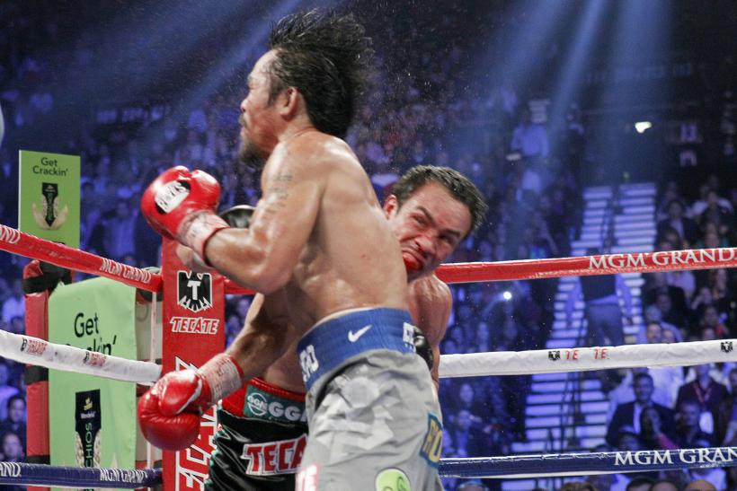 Floyd Mayweather, Manny Pacquiao Feud Continues With Marquez Knockout Video On Instagram