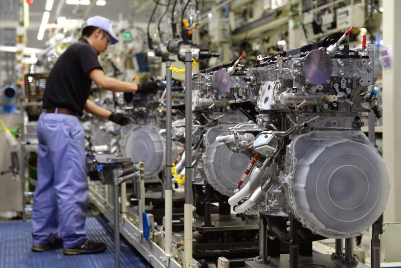 Japan's Industrial Production Rises in October 2014, Beating Forecasts