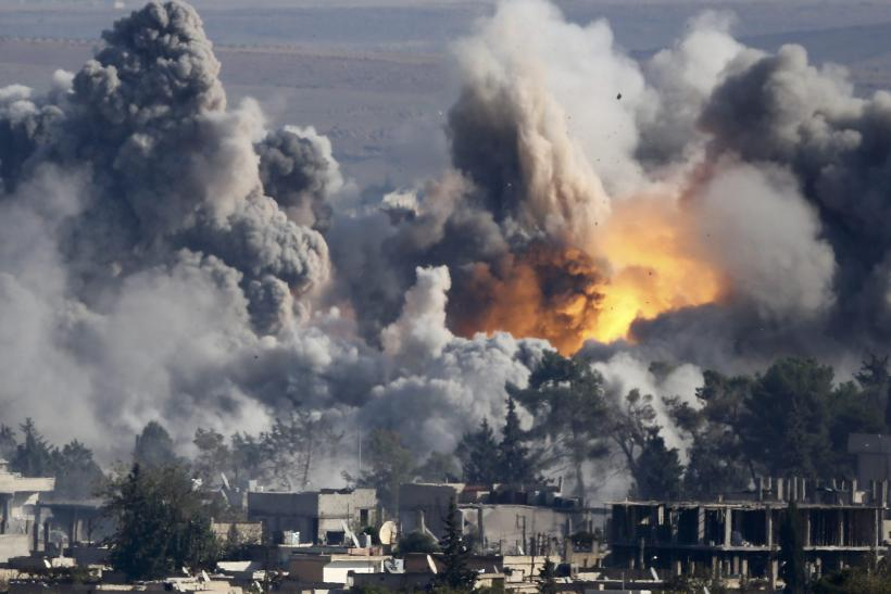 Billion-Dollar Airstrikes In Iraq, Syria