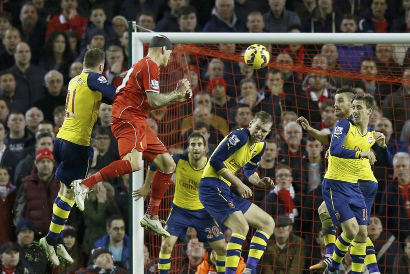 VIDEO Liverpool 2-2 Arsenal: Highlights, Goals; Late Skrtel Header Rescues Point For Reds