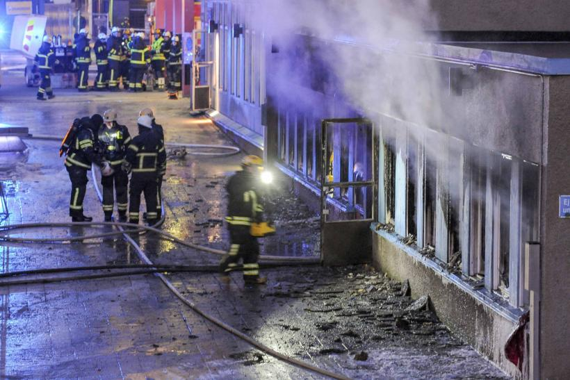 Swedish Mosque Torched, Injuring Five