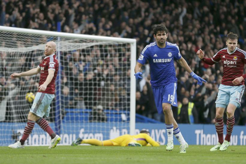 Chelsea 2-0 West Ham: Highlights Video, Report; Costa And Terry Goals Extend Blues' Premier League Lead