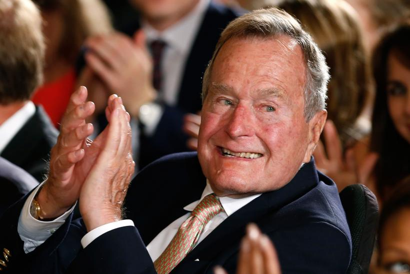 Former President Bush, 90, To Spend Fourth Night In Houston Hospital