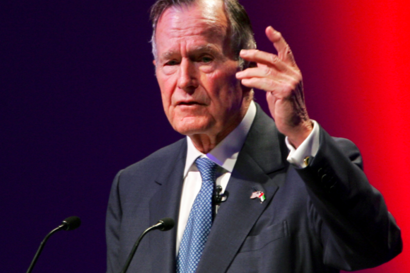 Bush 41 To Spend Weekend In Hospital, Condition Improving