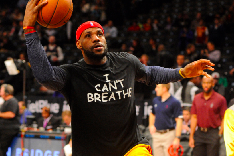 School Bans 'I Can't Breathe' T-shirts At Tournament