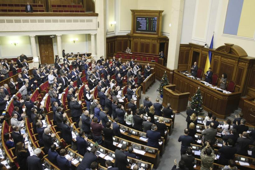 Ukraine's Parliament Approves Austerity Laws Needed For Draft Budget