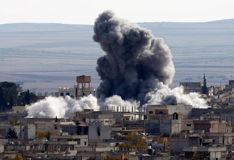 Syrian Town Of Kobani Taken From Islamic State