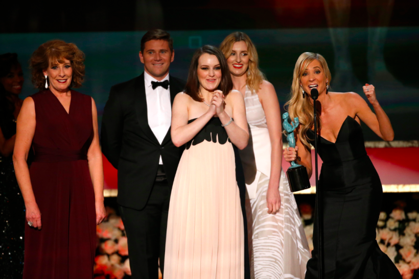 'Downton Abbey' Wins Ensemble In A Drama Series At 2015 SAG Awards