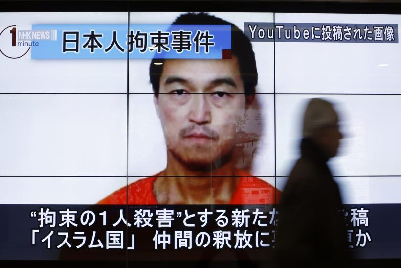 ISIS Hostage Update: Japan Working To Secure Kenji Goto's Release After Haruna Yukawa's Execution