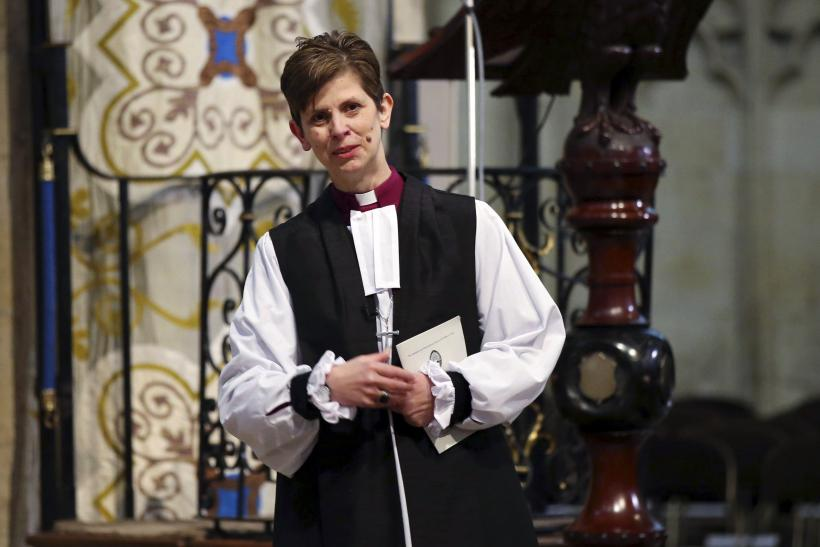 Libby Lane Consecration As Church of England's First Female Bishop Interrupted By Dissenter