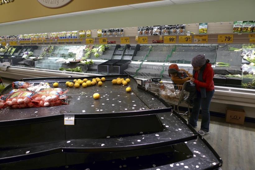 Empty Grocery Stores: What Food To Buy For Blizzard 2015, Where To Shop In New York, Boston