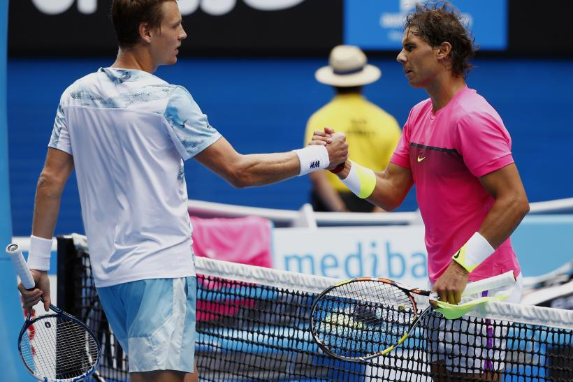 Rafael Nadal Out Of Australian Open After Losing To Tomas Berdych In Straight Sets