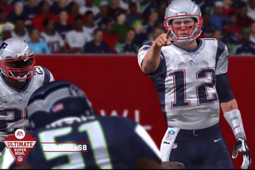 Super Bowl XLIX 2015 Predictions: 'Madden' Expects New England Patriots To Defeat Seattle Seahawks