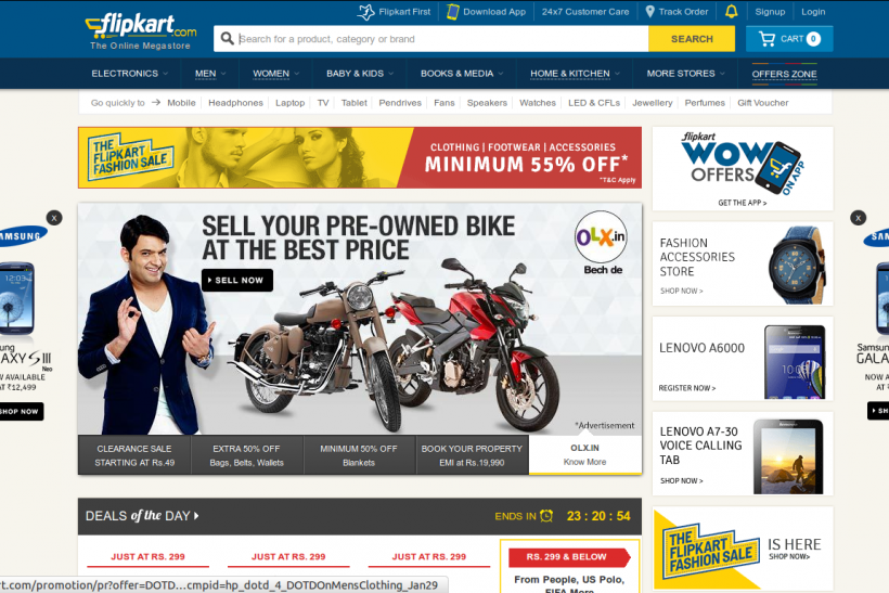Flipkart, Indian Online Retailer, Planning US IPO To Raise $5B: Report