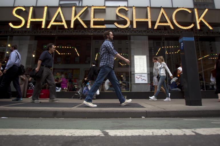 Shake Shack Soars 130% In IPO