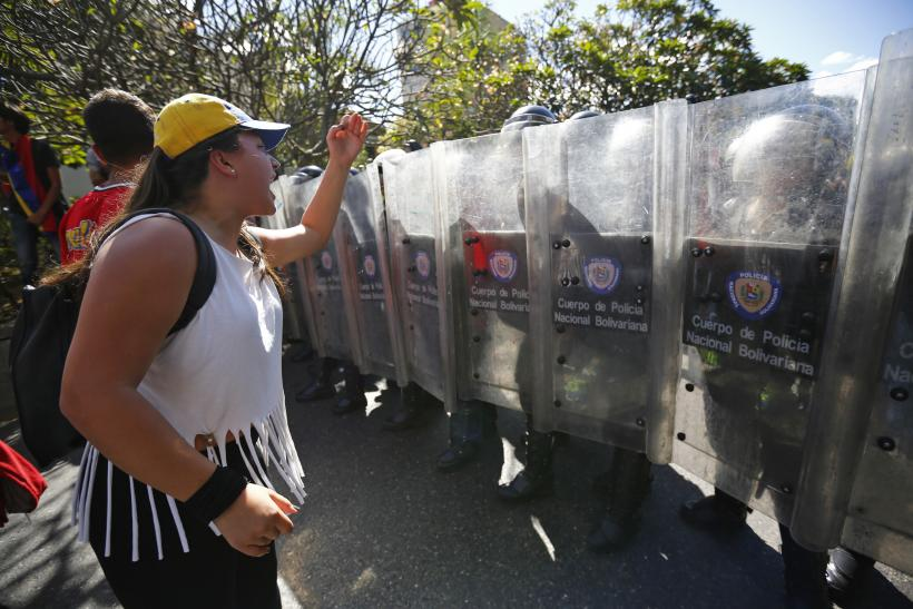Venezuela Law Allows Possible Use Of Deadly Force At Protests