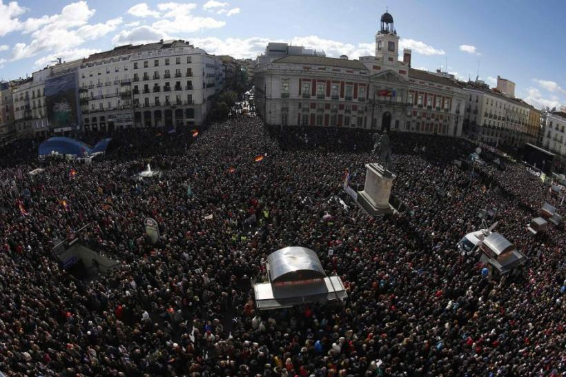 Spanish Elections: Podemos Draws Thousands To Anti-Austerity Party's Rally In Madrid