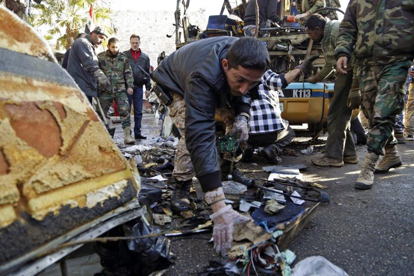 Blast Targeting Bus Near Shiite Shrine In Damascus Kills Six