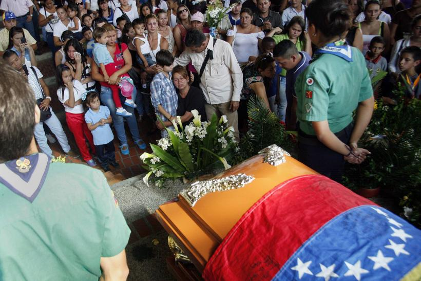 Venezuela Shooting Of 14-Year-Old Adds To A String Of Recent Student Deaths