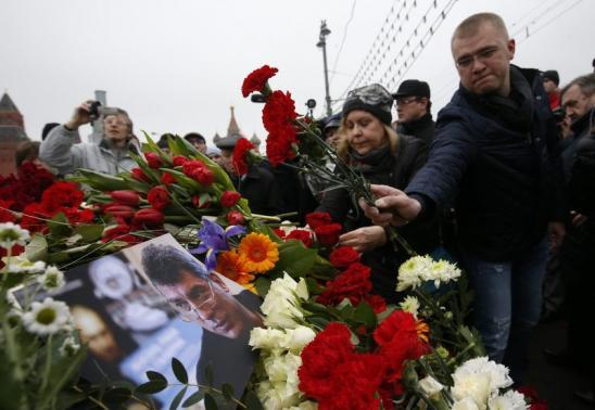 Russian Opposition Mourns Murdered Leader Nemtsov