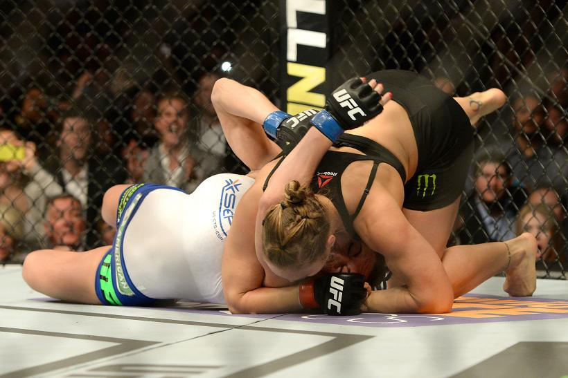 VIDEO Ronda Rousey Defeats Cat Zingano: Highlights From The UFC Fight; Rousey's 14-Second Win