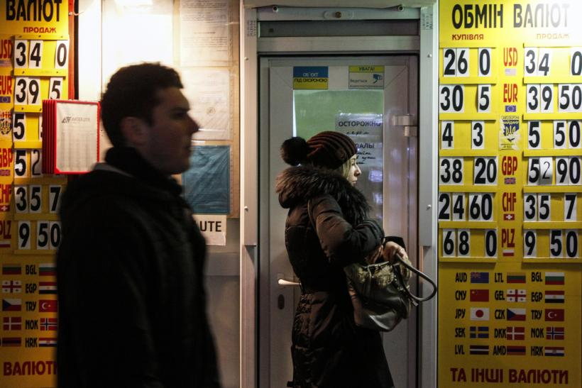 Rebels Claim They Will Solve East Ukraine's Currency Crisis