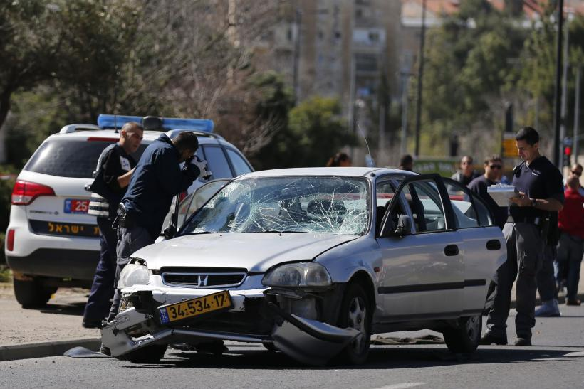 Five Israelis Injured After Car Rams Border Officers In 'Terror Attack'