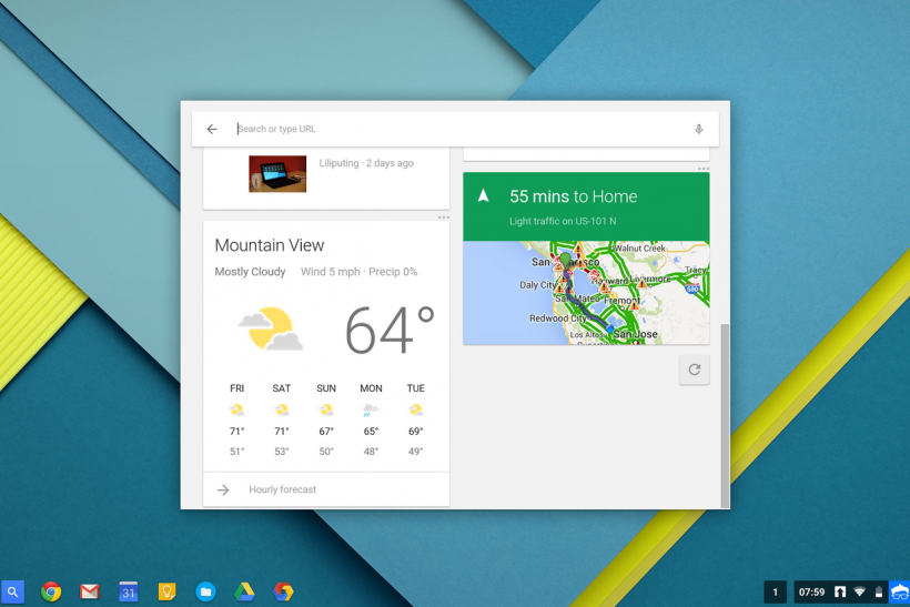 chromebook google now 1